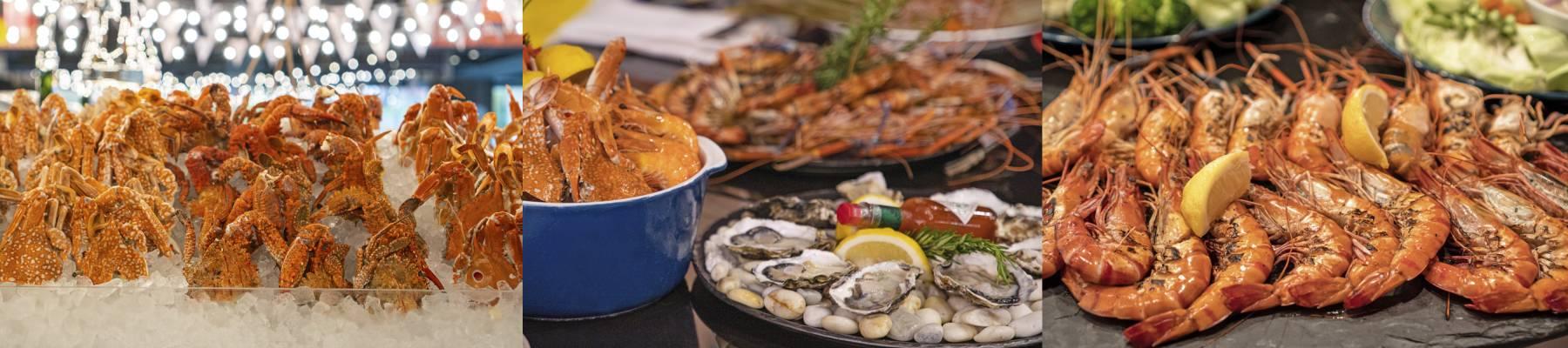曼谷螃蟹自助餐